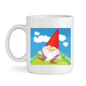 GNOME ON GRASS-Mug